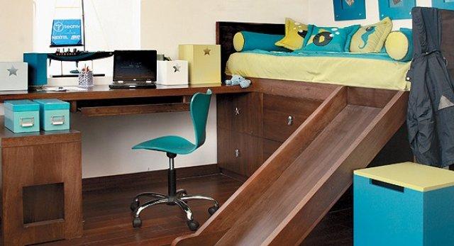 De ni o a adolescente c mo transformar el dormitorio for Cama divan con cajones